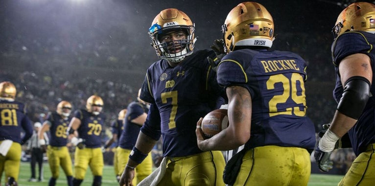 Athlon makes case for and against Notre Dame making the playoff