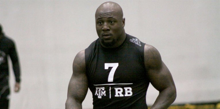 Texas A&M Pro Day testing numbers
