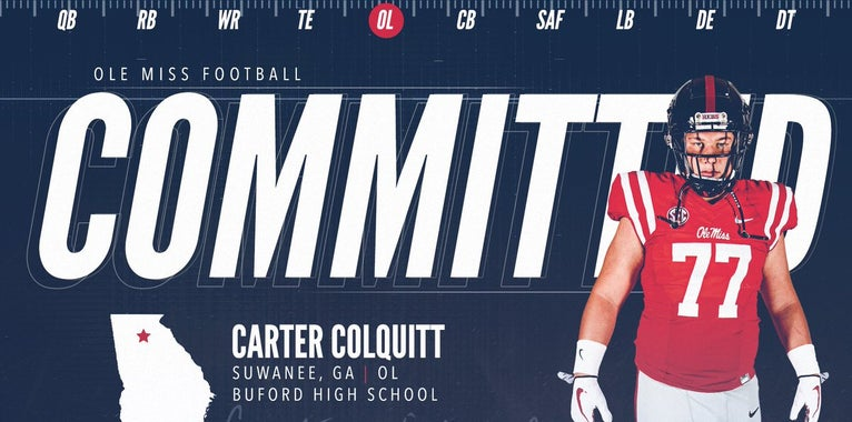 O-Lineman Carter Colquitt Makes The Call To Ole Miss