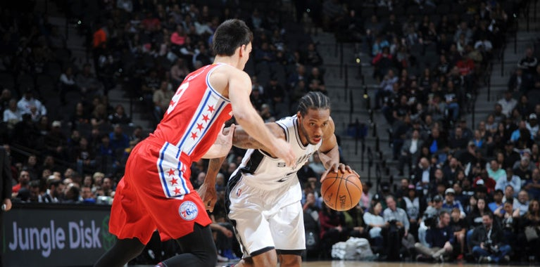 Report: 76ers unwilling to spend a lot in potential Kawhi trade