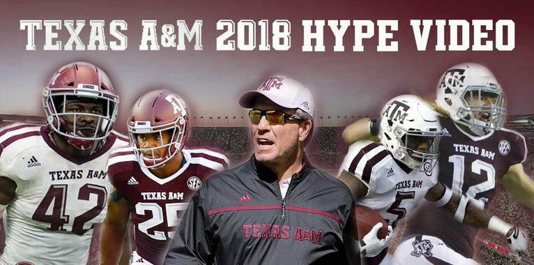 WATCH: Cold Chedda's 2018 Aggie Football hype video