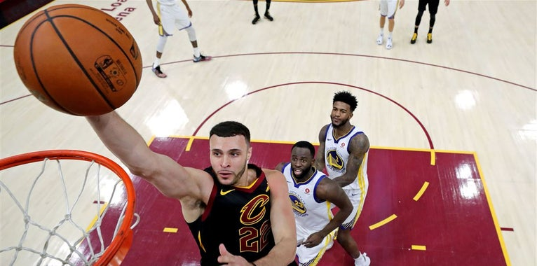 Larry Nance Jr. is excited for expanded role with Cavs