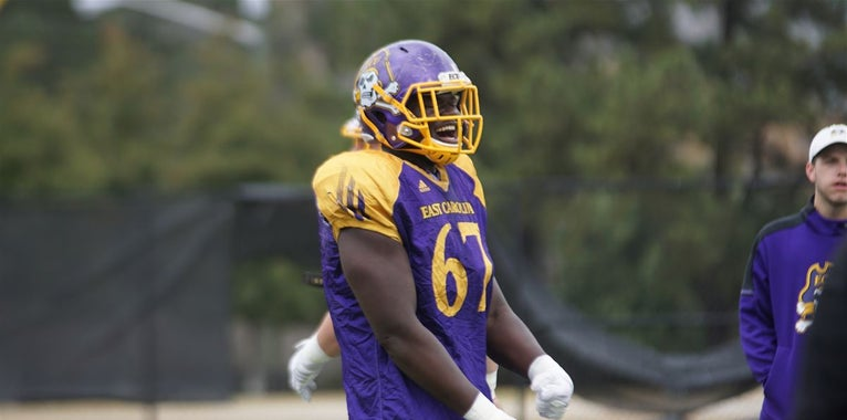 Notable weight changes from ECU's official 2018 roster