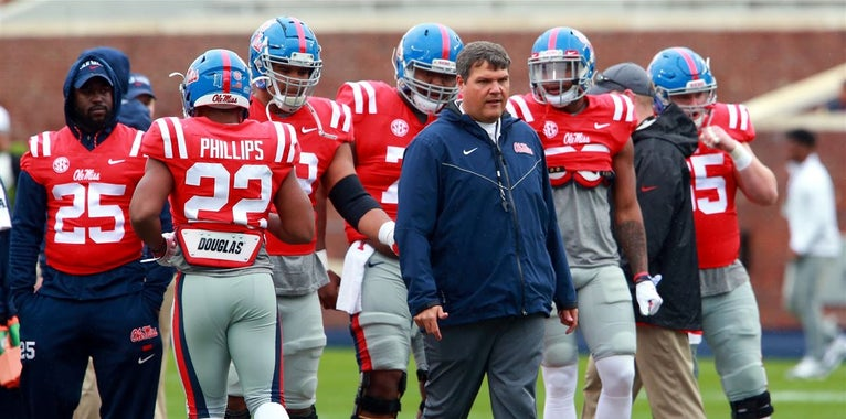 Ole Miss Releases Pre-Fall Camp Two-Deep