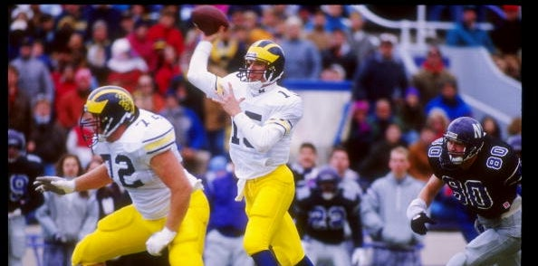 Michigan Football: Top-10 career passing touchdown leaders
