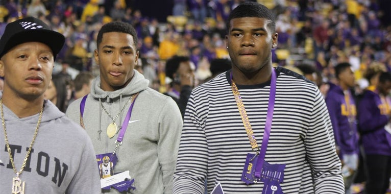 "LSU's 2019 recruiting ""Dream Class"""