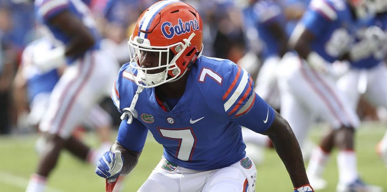 Duke Dawson drafted by New England in second round