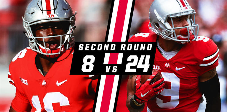 Bucknuts Brackets: No. 8 J.T. Barrett vs. No. 24 Devin Smith