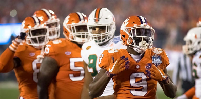 Travis Etienne, Clemson, Running Back