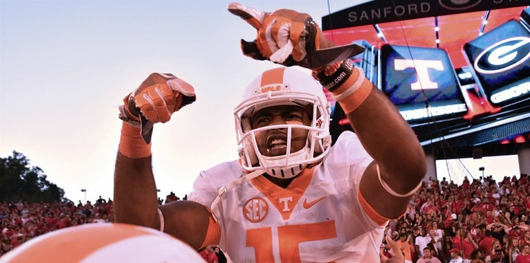 Border battles: Tennessee's best moments against Georgia