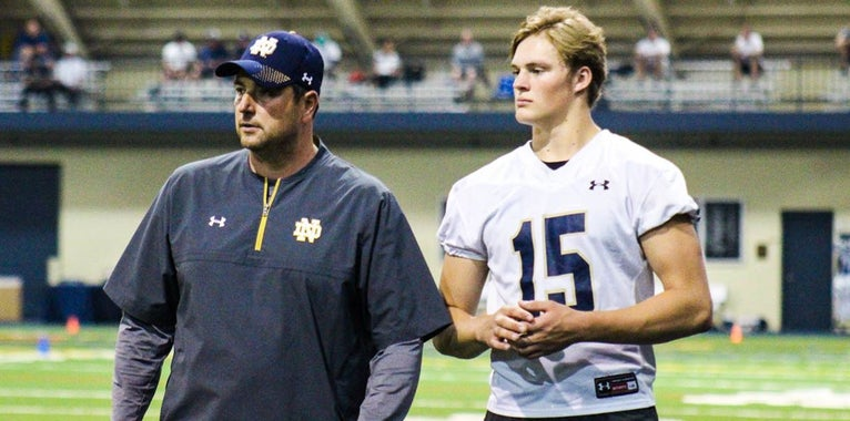 Three-star DE Braiden McGregor returning to Notre Dame