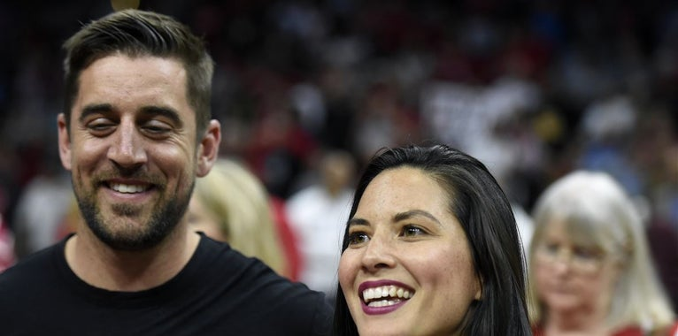 Olivia Munn reveals details of Aaron Rodgers' family issues