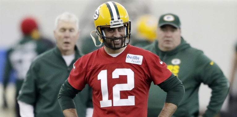 Aaron Rodgers responds to Tony Romo's Super Bowl pick