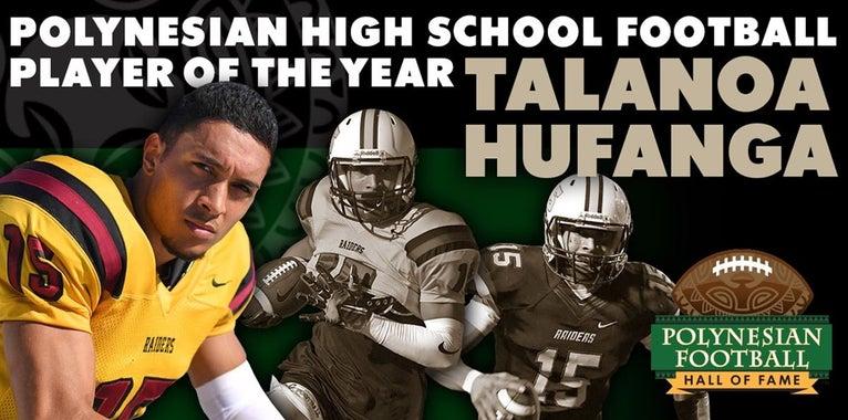 Talanoa Hufanga named Polynesian HS Football Player of the Year