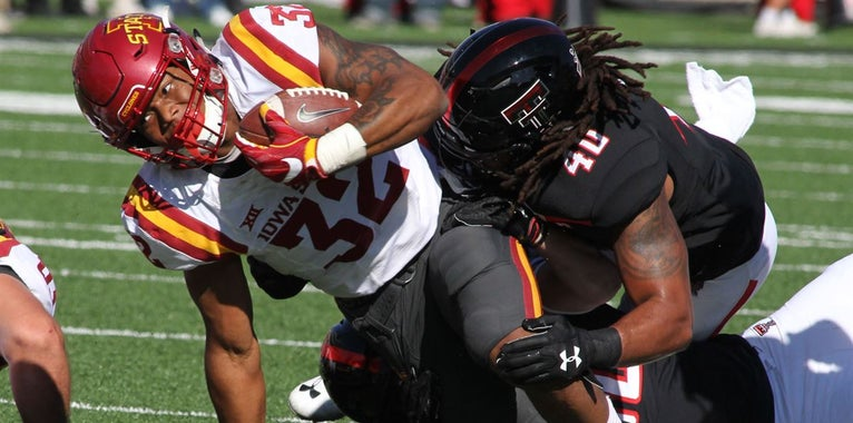 What makes Montgomery tough to tackle? Big 12 linebackers say