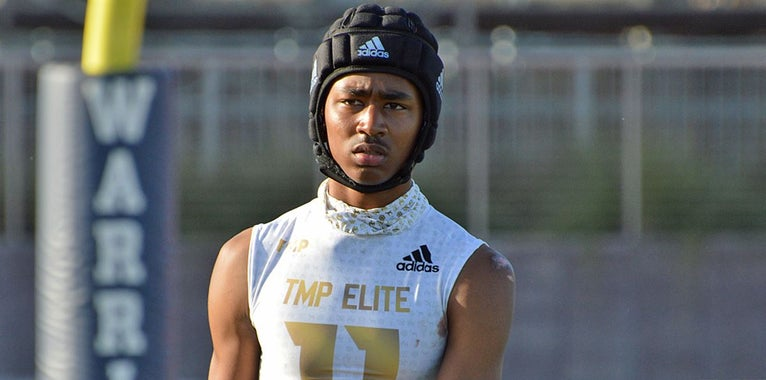 Three-star DB Makai Polk soaking in the recruiting process