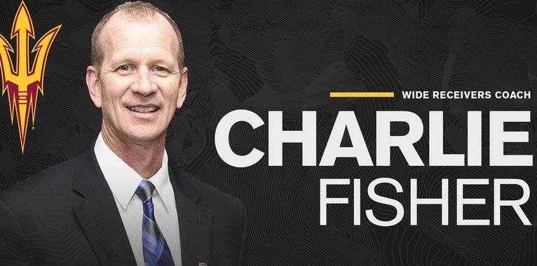 Q&A with ASU wide receivers coach Charlie Fisher