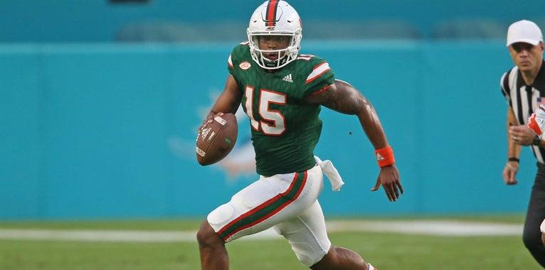 Freshman QB Williams Recaps His Transition To Miami