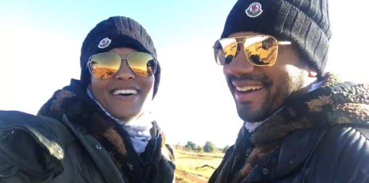 Russell Wilson, Ciara aid fight against poachers in South Africa