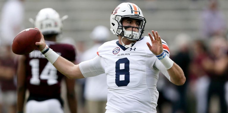 Auburn QB Stidham: I recruited A&M harder than they recruited me