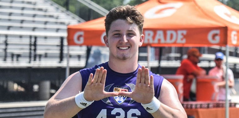 Miami Long Snapper Commit Competing For All-American Invite
