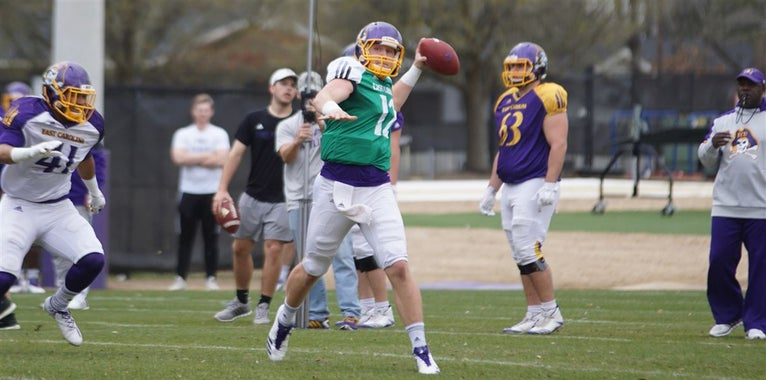 Observations from ECU's Monday Practice