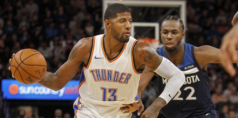 Paul George sticks with Oklahoma City on 4-year, $137M contract