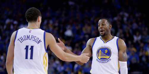 Klay Thompson and Andre Iguodala questionable for Game 5