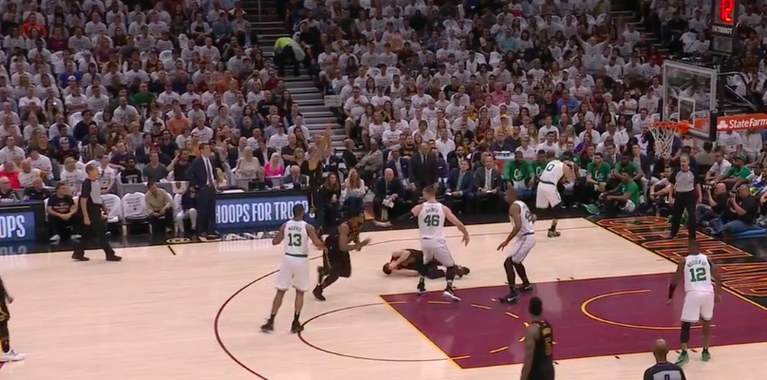 Kevin Love out for rest of game, being evaluated for concussion