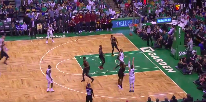 Watch: Terry Rozier records steal and sets up Jayson Tatum three
