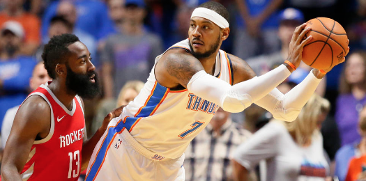 Carmelo Anthony signs one-year, $2.4 million deal with Rockets