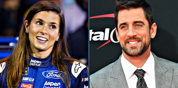 Danica Patrick recalls first time meeting Aaron Rodgers