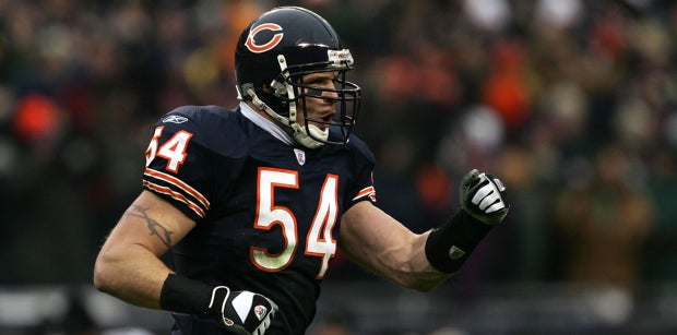 Brian Urlacher pinpoints the best moment of his Bears career