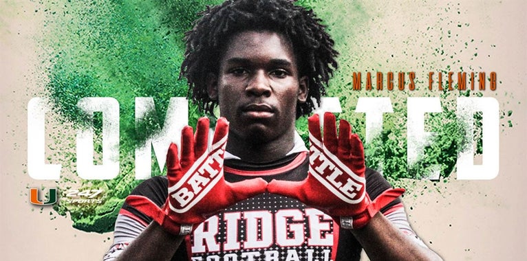 Breaking: 2020 WR Fleming Commits to Miami
