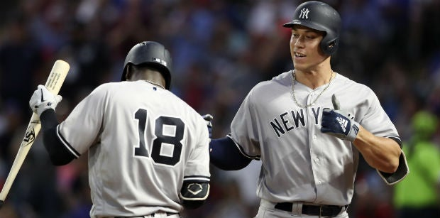 Stacking Wednesday's Slate -- Yankees Going Yard