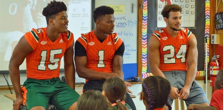 PHOTOS: Miami Community Event at Tucker Elementary School