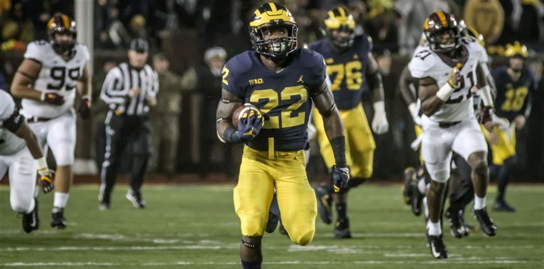 Michigan RB Karan Higdon named to Doak Walker Award watch list