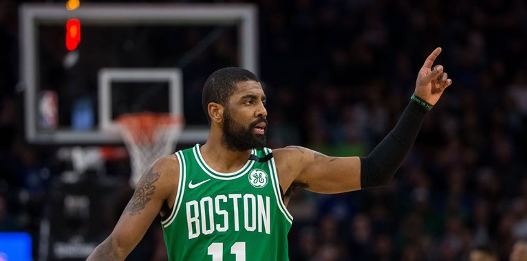 Brad Stevens says Kyrie Irving is in a great place mentally