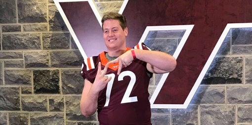 Where Virginia Tech commits currently rank