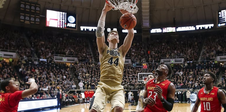 Purdue loses 7-foot-2 Isaac Haas for remainder of March Madness