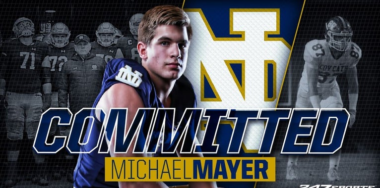 BREAKING: Big-time 2020 TE Michael Mayer commits to Notre Dame
