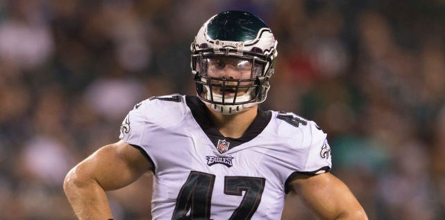 Eagles depth chart after first OTA practice