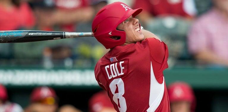 Eric Cole makes minor league debut with Burlington Royals