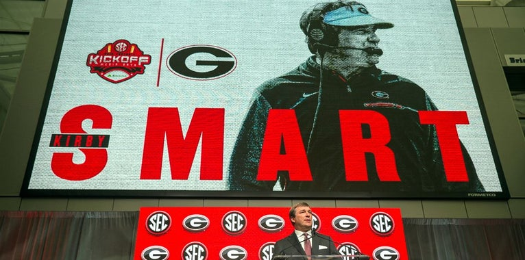 SEC Now hosts discuss Kirby Smart 'embracing pressure'