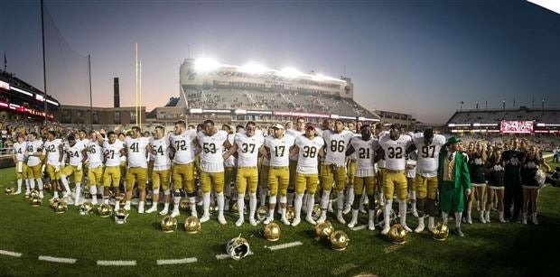 Irish to face former targets during season-opener vs. Michigan