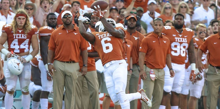 Longhorns armed with enough fireworks to be an explosive squad