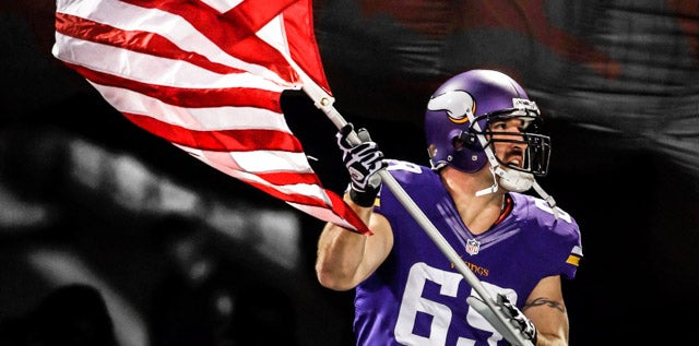Jared Allen returns to Minnesota as honorary captain for Week 11