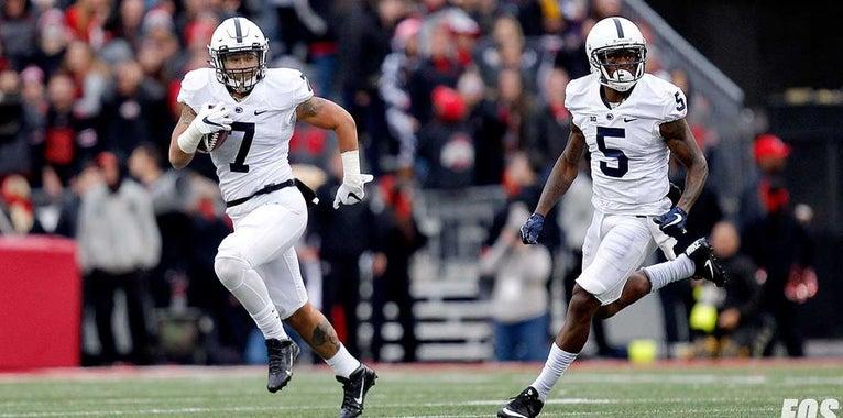 Penn State Frame Game: Koa Farmer's cast of all-star blockers