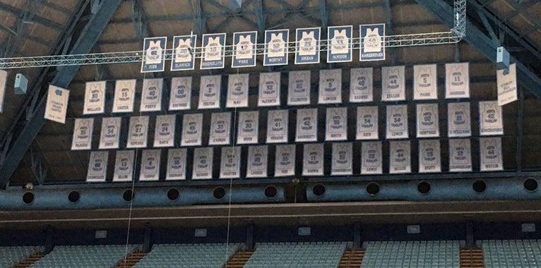 UNC Basketball Freshmen Choose Jersey Numbers