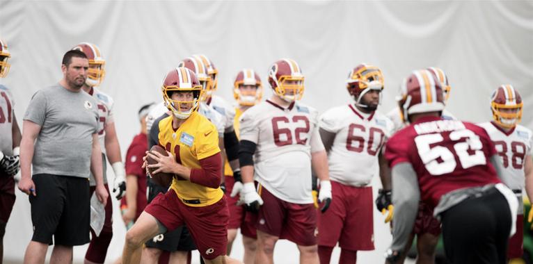 Alex Smith says Washington Redskins must have a sense of urgency